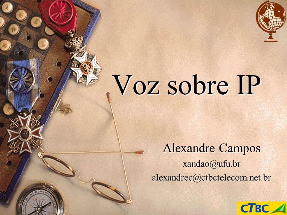 Voz sobre IP Alexandre Campos xandao@ufu.bralexandrec@ctbctelecom.net.br