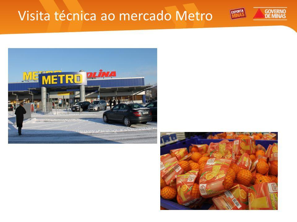 Visita técnica ao mercado Metro