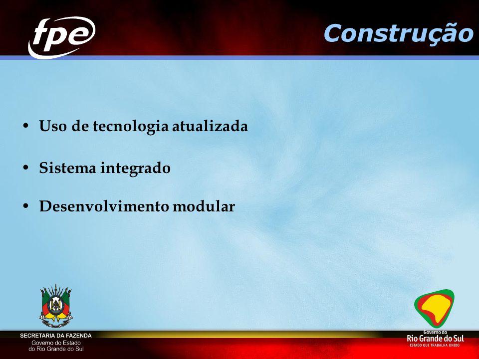 Uso de tecnologia atualizada Sistema integrado Desenvolvimento modular Construção
