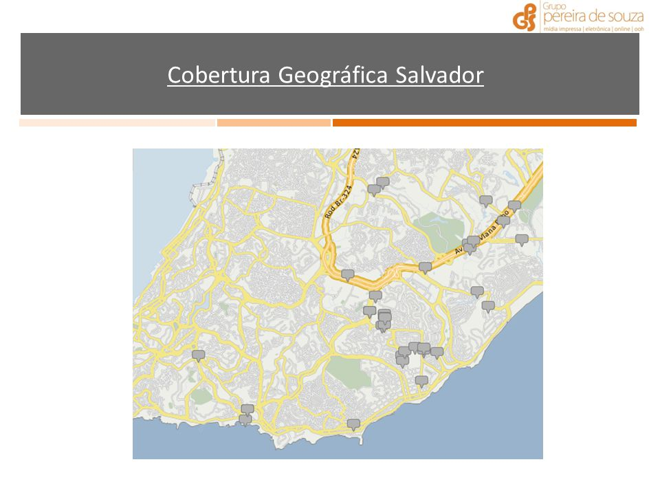 Cobertura Geográfica Salvador
