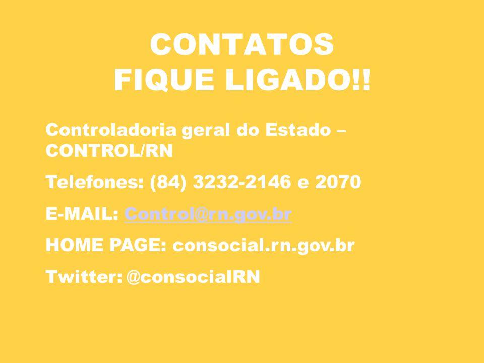 CONTATOS FIQUE LIGADO!.