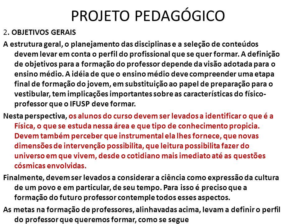 PROJETO PEDAGÓGICO 2.