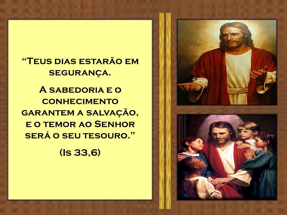 Tesouros mal adquiridos de nada servem, mas a justiça livra da morte. (Pr 10,2) Na casa do justo há riqueza abundante, mas perturbação nos frutos dos