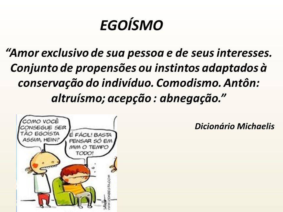 AUTO-AMOR EGOÍSMO DIVALDO P.