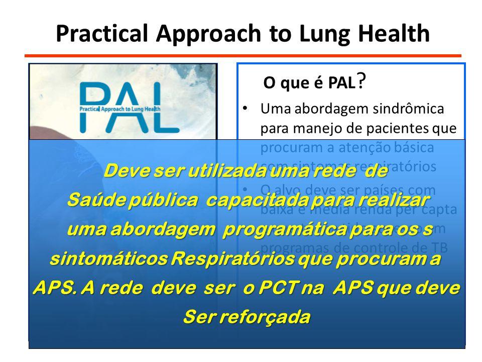 Practical Approach to Lung Health O que é PAL .
