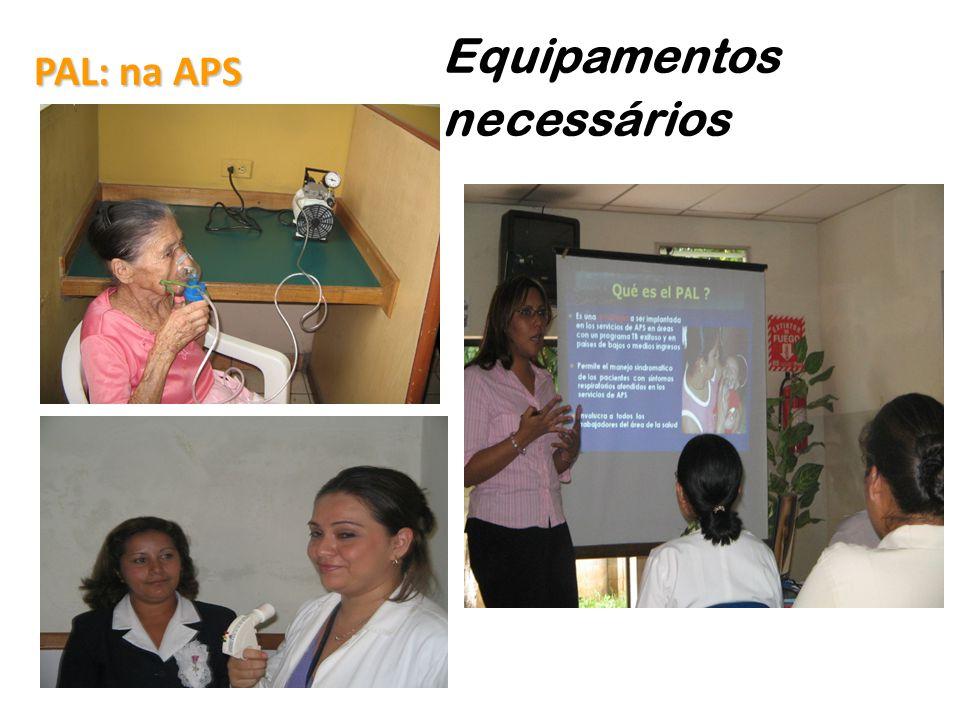 PAL: na APS Equipamentos necessários