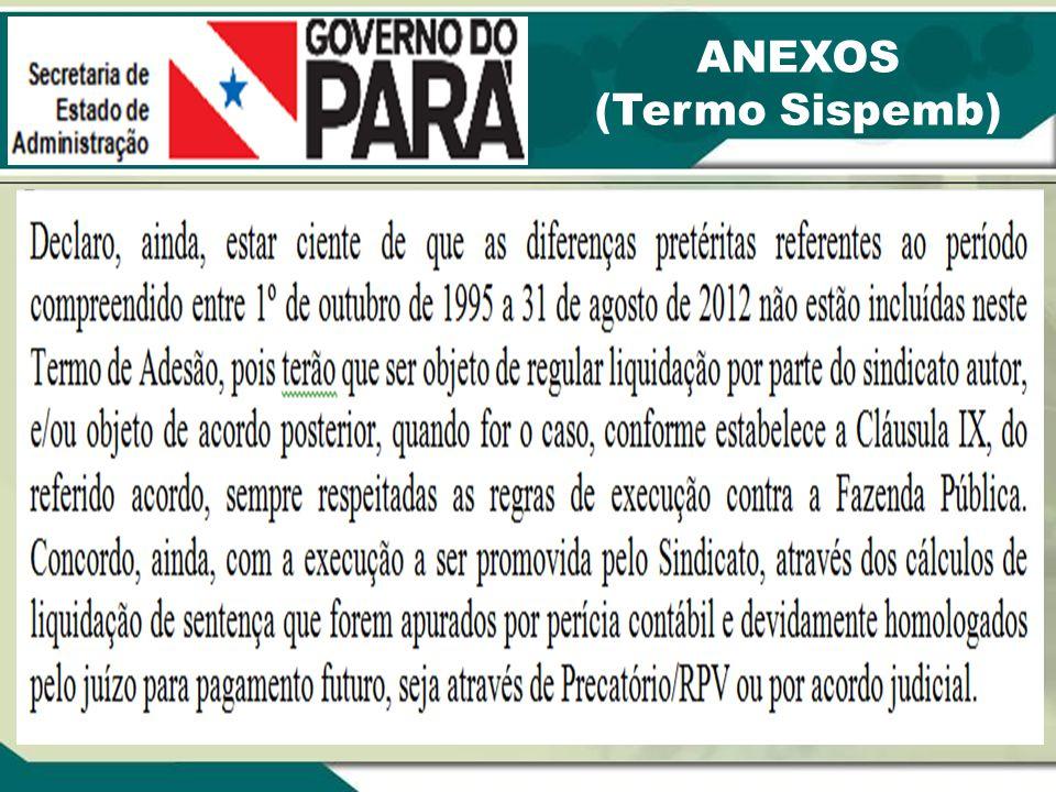 ANEXOS (Termo Sispemb)