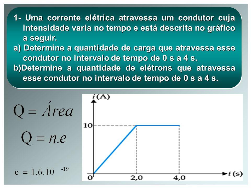 TIPOS DE CORRENTES ELÉTRICAS Há dois tipos de corrente elétrica, uma contínua (C.C.), e outra alternada (C.A.). CORRENTE CONTINUA CORRENTE ALTERNADA i