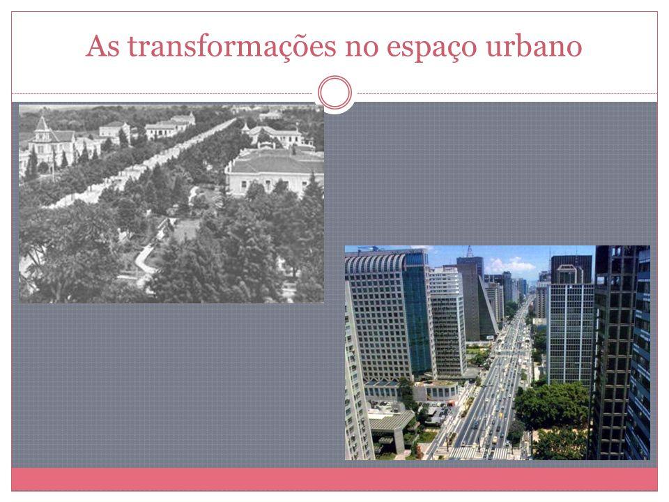Aumentou o crescimento populacional migrações Rápida urbanização.
