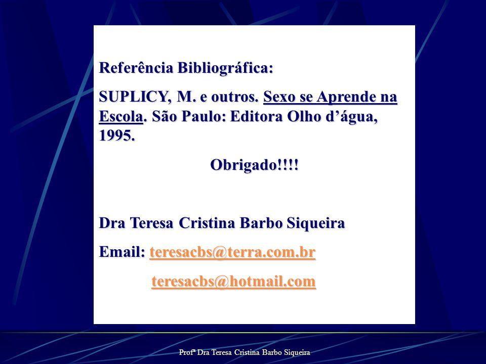 Profª Dra Teresa Cristina Barbo Siqueira Situações problemas Os alunos solicitam a opinião pessoal do professor Os alunos solicitam a opinião pessoal