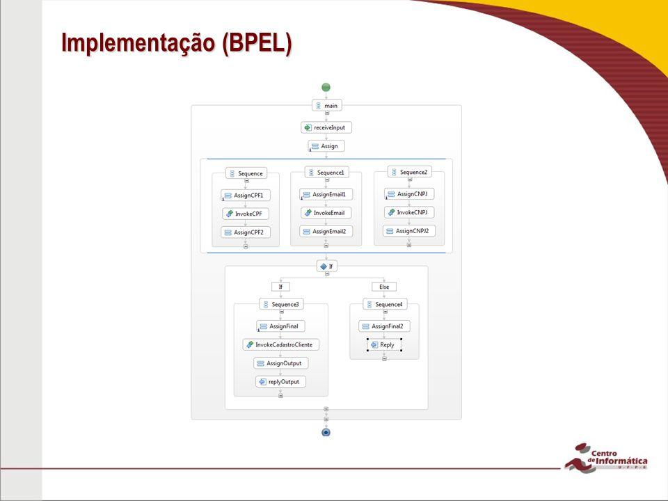 Implementação (BPEL)