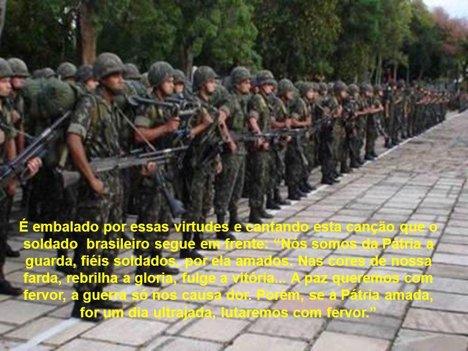 O militar não tem compromisso com o poder, mas com a Pátria, no fiel cumprimento de sua destinação constitucional. Não importa a coloração partidária