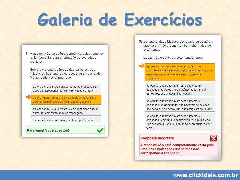 Galeria de Exercícios www.clickideia.com.br