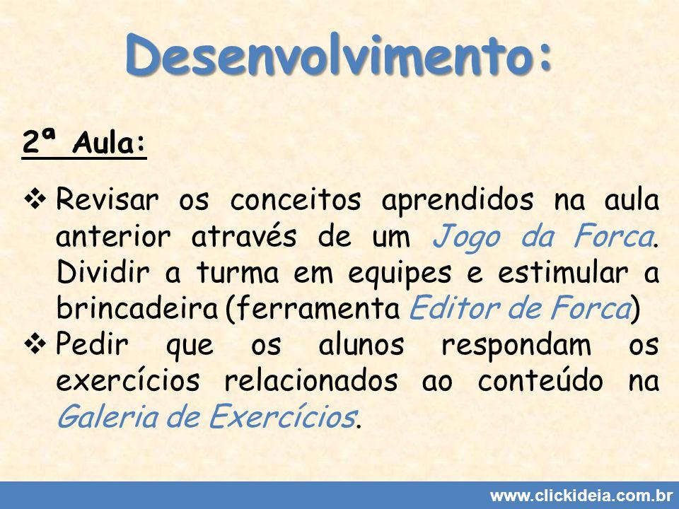 Jogo da Forca www.clickideia.com.br
