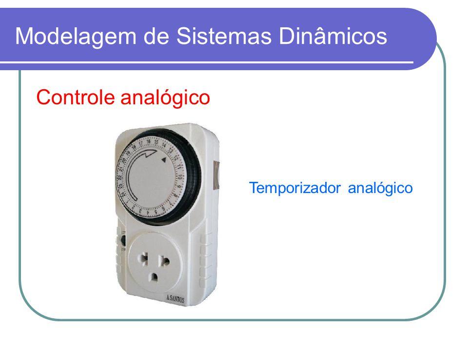 Controle analógico Temporizador analógico Modelagem de Sistemas Dinâmicos