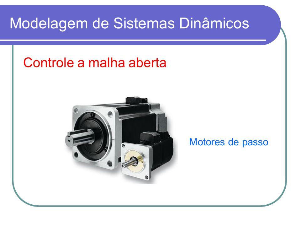 Modelagem de Sistemas Dinâmicos Controle a malha aberta Motores de passo