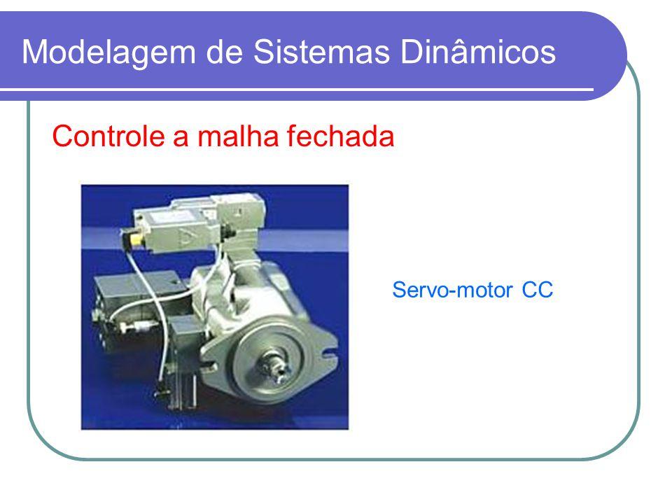 Modelagem de Sistemas Dinâmicos Controle a malha fechada Servo-motor CC