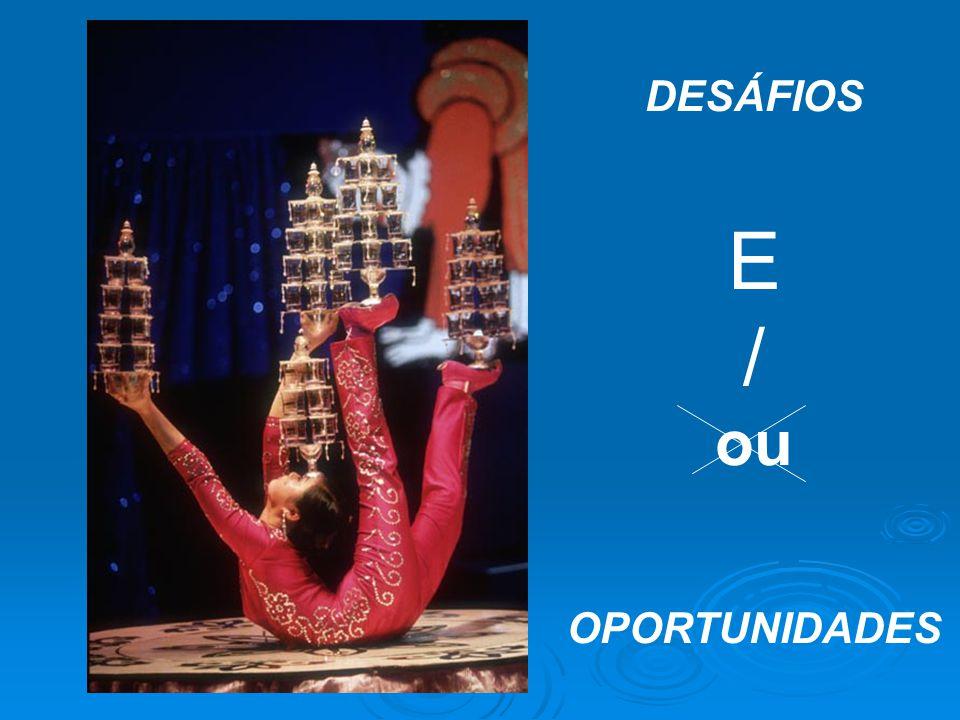 DESÁFIOS E / ou OPORTUNIDADES