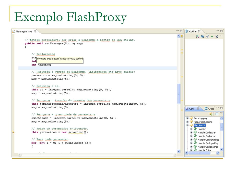 Exemplo FlashProxy