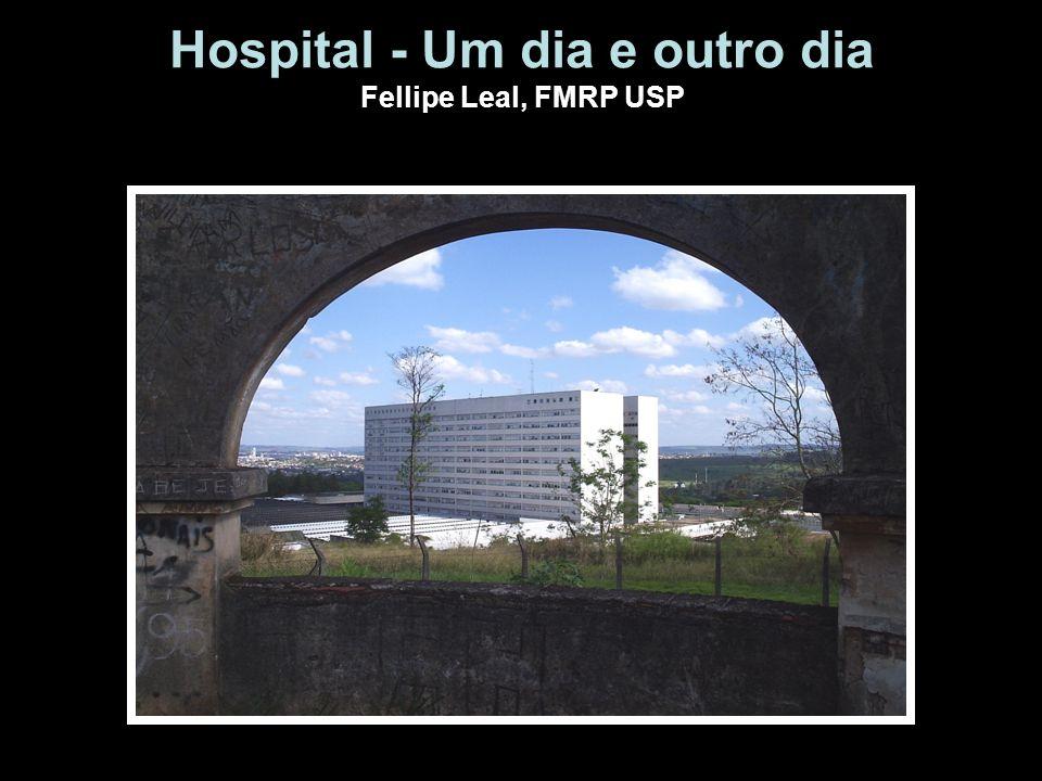 Hospital - Um dia e outro dia Fellipe Leal, FMRP USP
