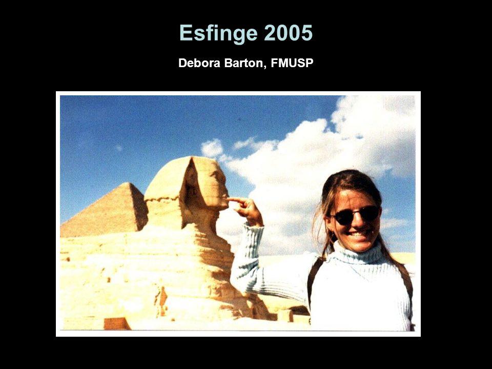 Esfinge 2005 Debora Barton, FMUSP
