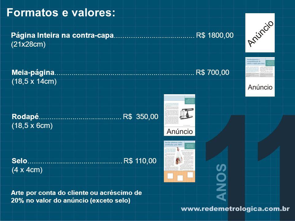 Comercialização Exclusiva: Ramiro Barcelos 1056/303 Porto Alegre/ RS Fone/ fax 51 3013.3833 www.ventocom.net