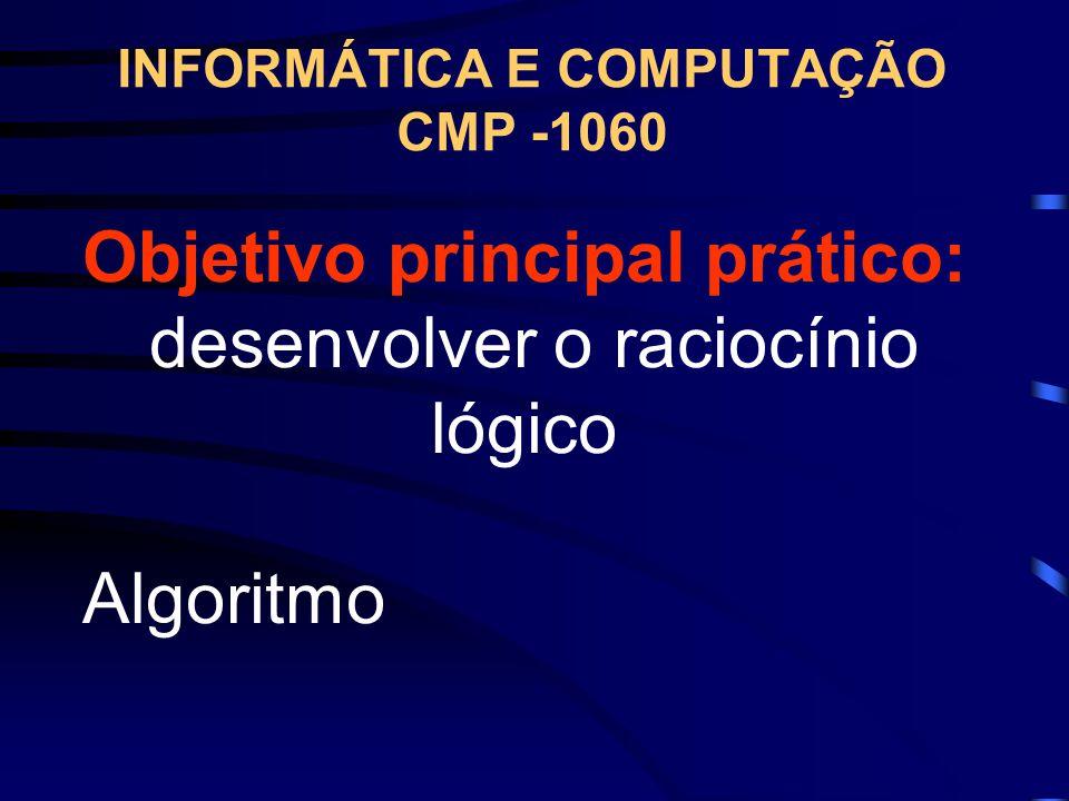 CRITÉRIOS DE AVALIAÇÃO A nota final do aluno será composta por duas notas (N1 e N2) sendo que: N1 e N2 – Avaliações Teóricas (50%) – Avaliações Prátic