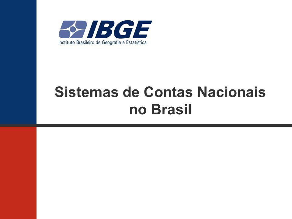Sistemas de Contas Nacionais no Brasil