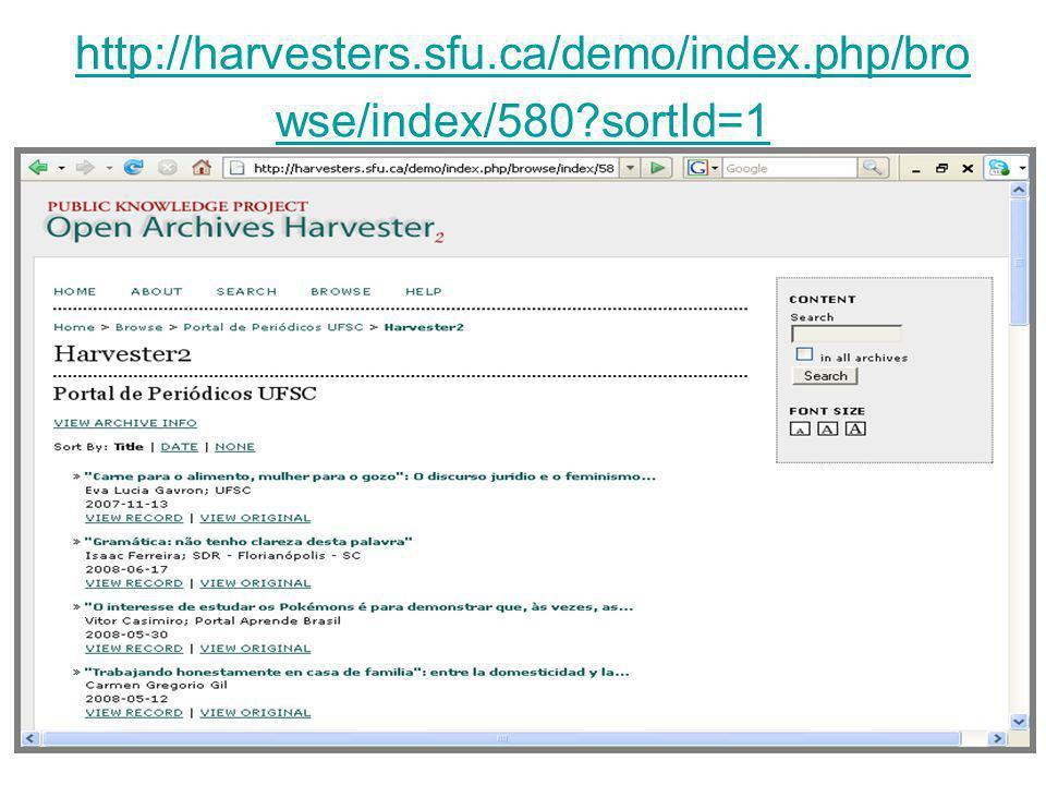 http://harvesters.sfu.ca/demo/index.php/bro wse/index/580?sortId=1