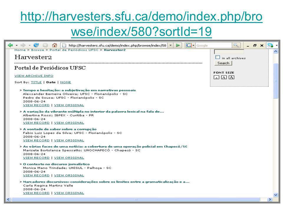 http://harvesters.sfu.ca/demo/index.php/bro wse/index/580?sortId=19