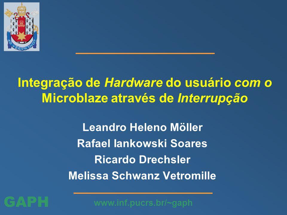 GAPH www.inf.pucrs.br/~gaph Adicionar periféricos da lista