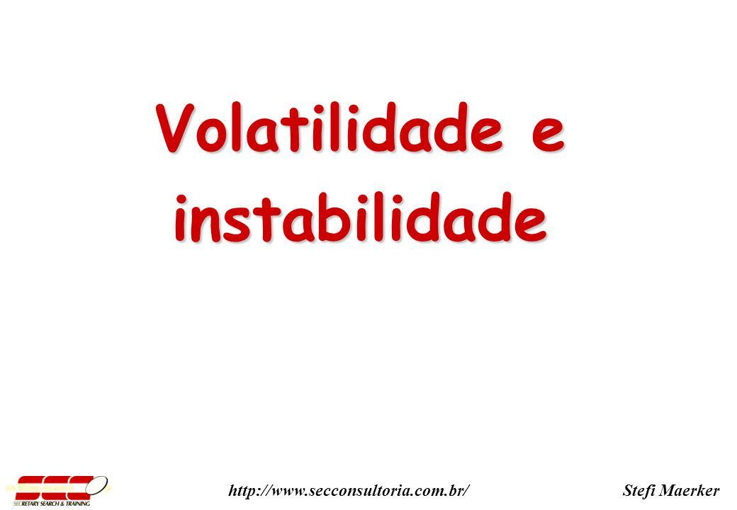 Stefi Maerkerhttp://www.secconsultoria.com.br/ Volatilidade e instabilidade