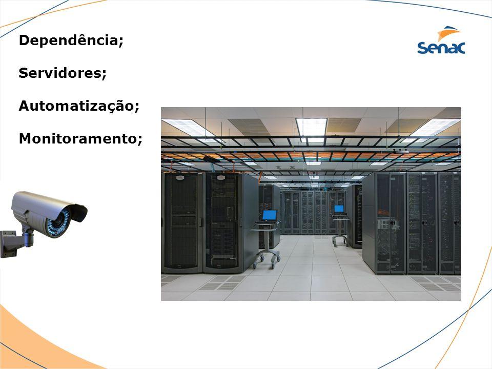 Dependência; Servidores; Automatização; Monitoramento;