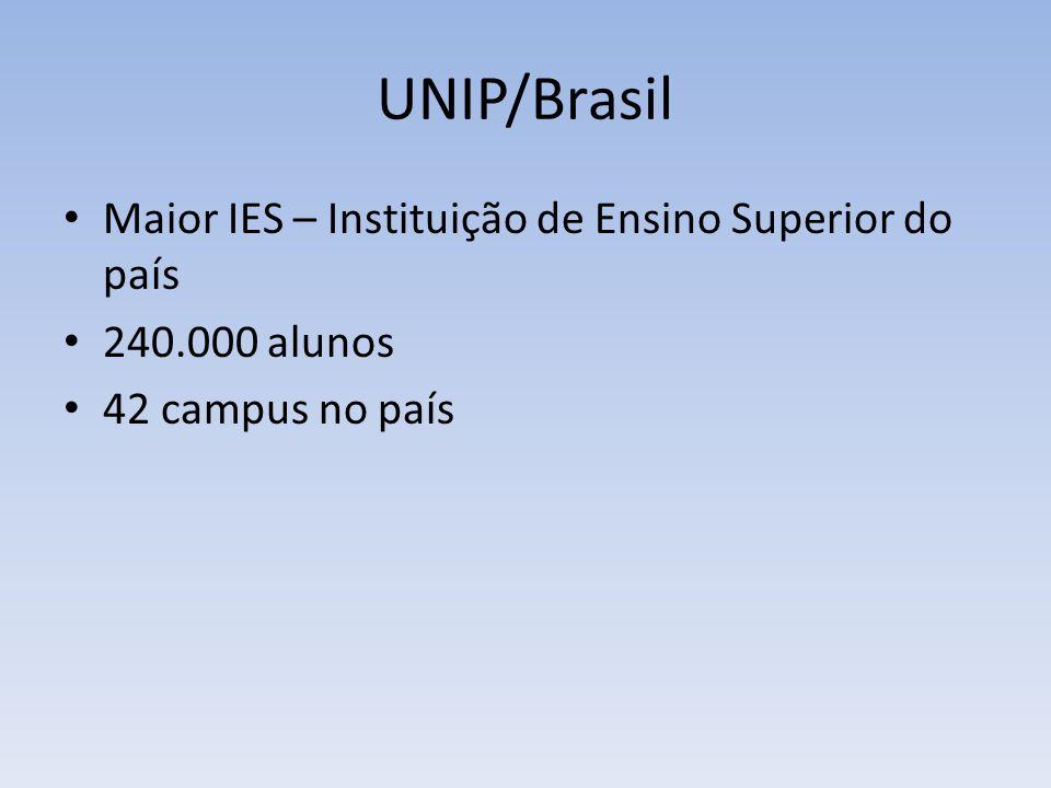 UNIP/Brasília SGAS Quadra 913, s/nº - Conjunto B - Asa Sul, 12.000 alunos
