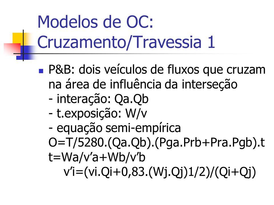 Componentes Básicos Conexão Teórica: Fault, Event Tree...... Operação do Tráfego: chegadas e intervalos aleatórios... formação/dispersão de pelotões..