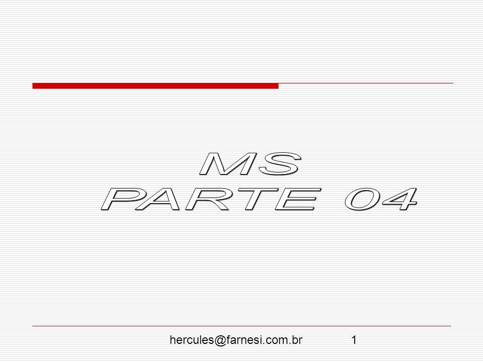 hercules@farnesi.com.br22 A Quarta fase: 1964-1977.