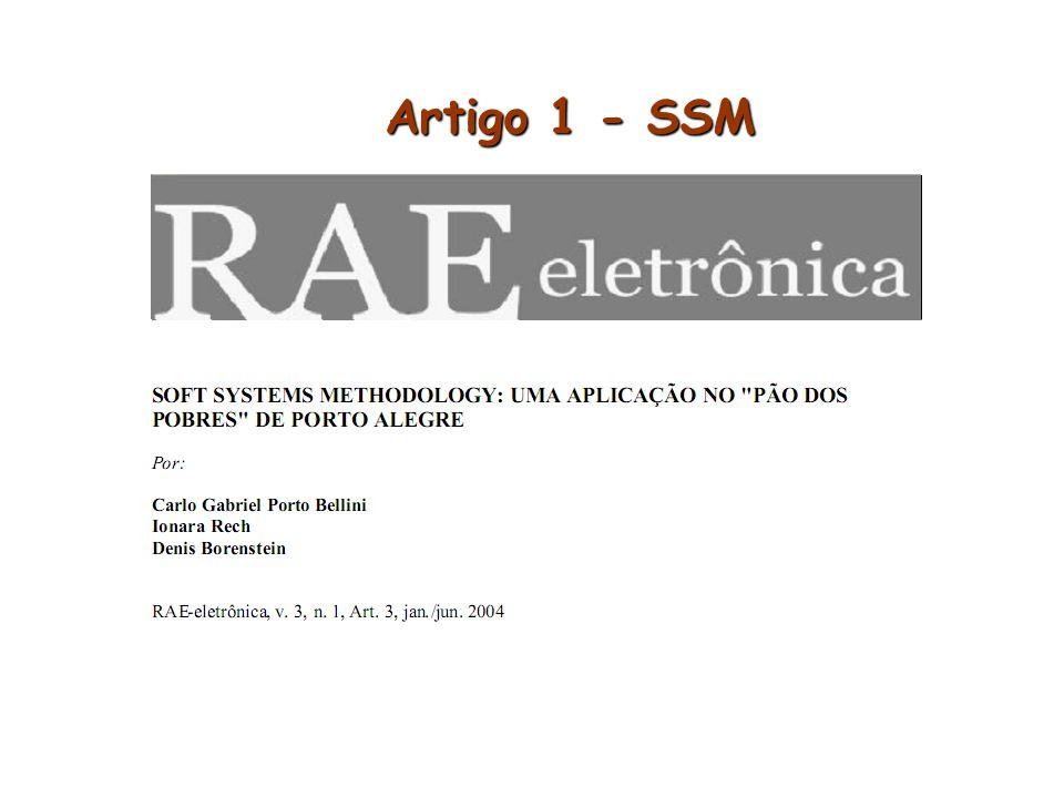 Artigo 1 - SSM