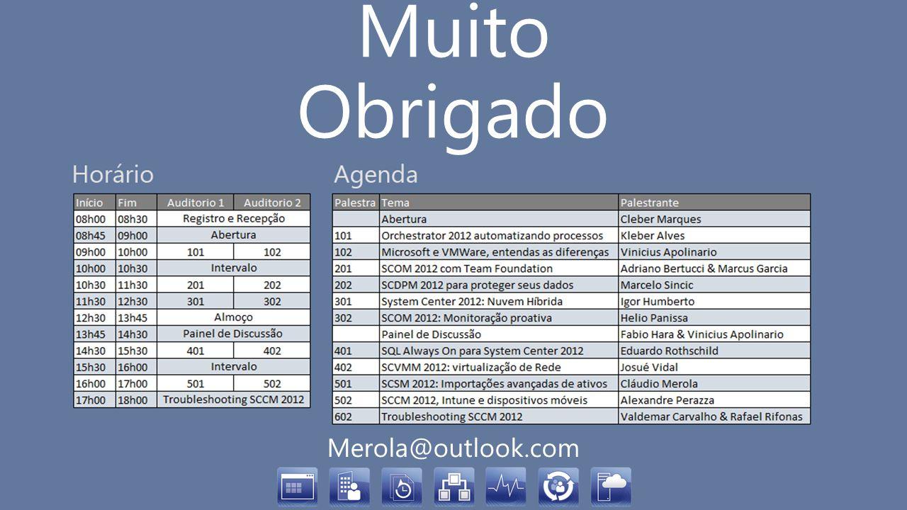 Muito Obrigado Merola@outlook.com
