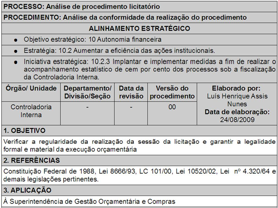 WORKSHOPS DE MELHORIA DE PROCESSOS MINISTÉRIO PÚBLICO DE GOIÁS