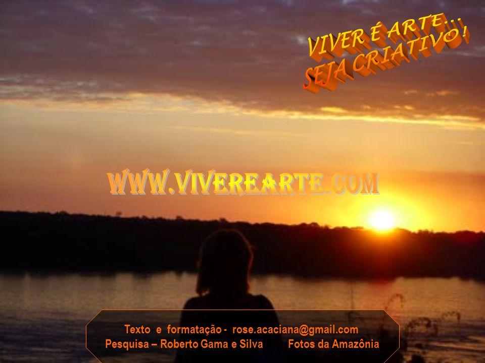 ACREDITE...NOSSA AMAZÔNIA É AINDA A ÁREA MAIS BEM CONSERVADA DE TODO PLANETA...