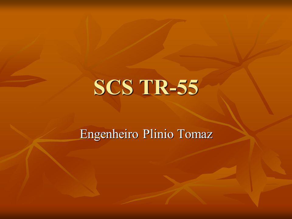 SCS TR-55 Engenheiro Plinio Tomaz