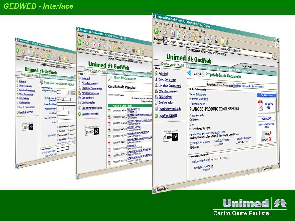 GEDWEB - Interface