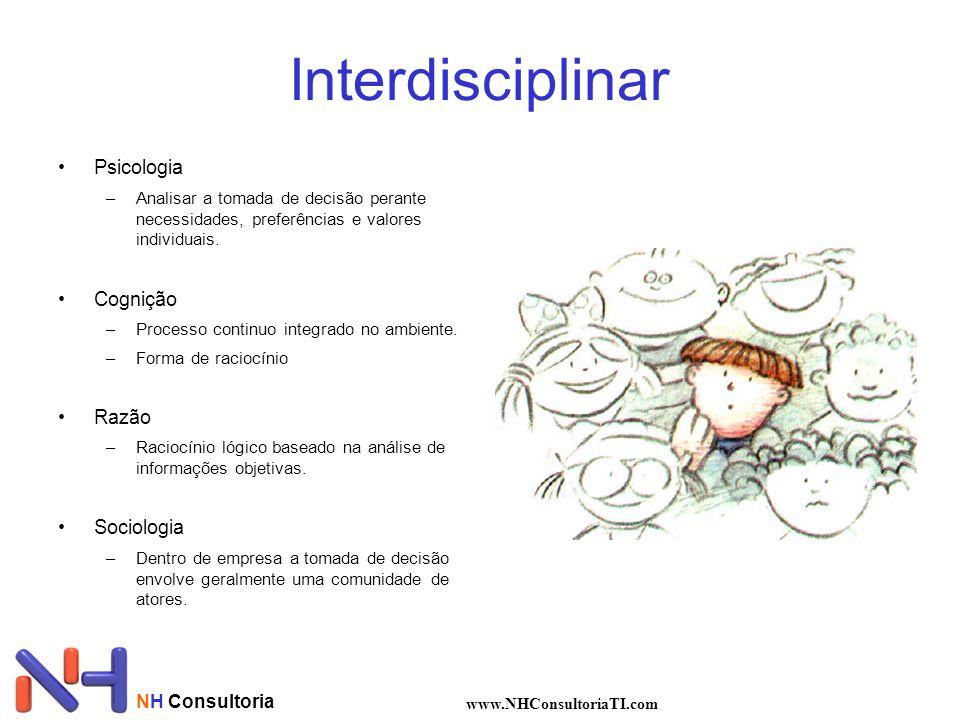 Interdisciplinar Psicologia –Analisar a tomada de decisão perante necessidades, preferências e valores individuais.