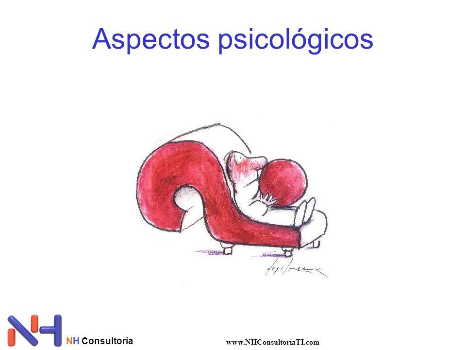 Aspectos psicológicos NH Consultoria www.NHConsultoriaTI.com