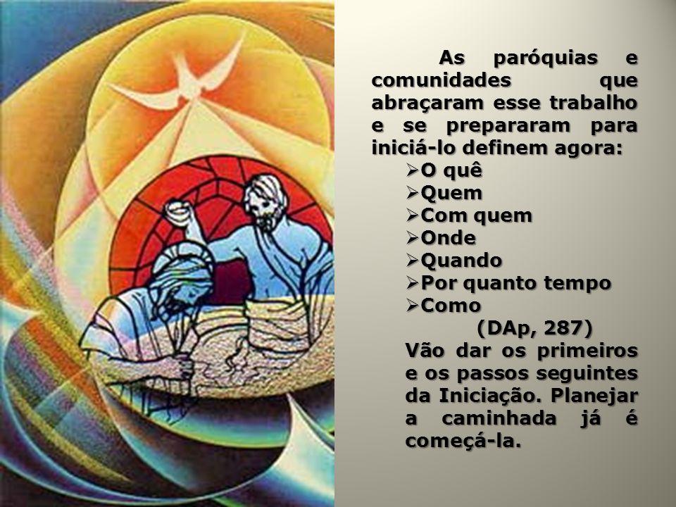 A celebração dos sacramentos da Iniciação acontece na grande celebração da Vigília Pascal; A celebração dos sacramentos da Iniciação acontece na grande celebração da Vigília Pascal; A celebração estará à altura do Mistério celebrado e de sua importância e significado para os eleitos; A celebração estará à altura do Mistério celebrado e de sua importância e significado para os eleitos; A extensão do tempo da celebração terá que ser sabiamente compensada pela beleza e leveza dos ritos A extensão do tempo da celebração terá que ser sabiamente compensada pela beleza e leveza dos ritos