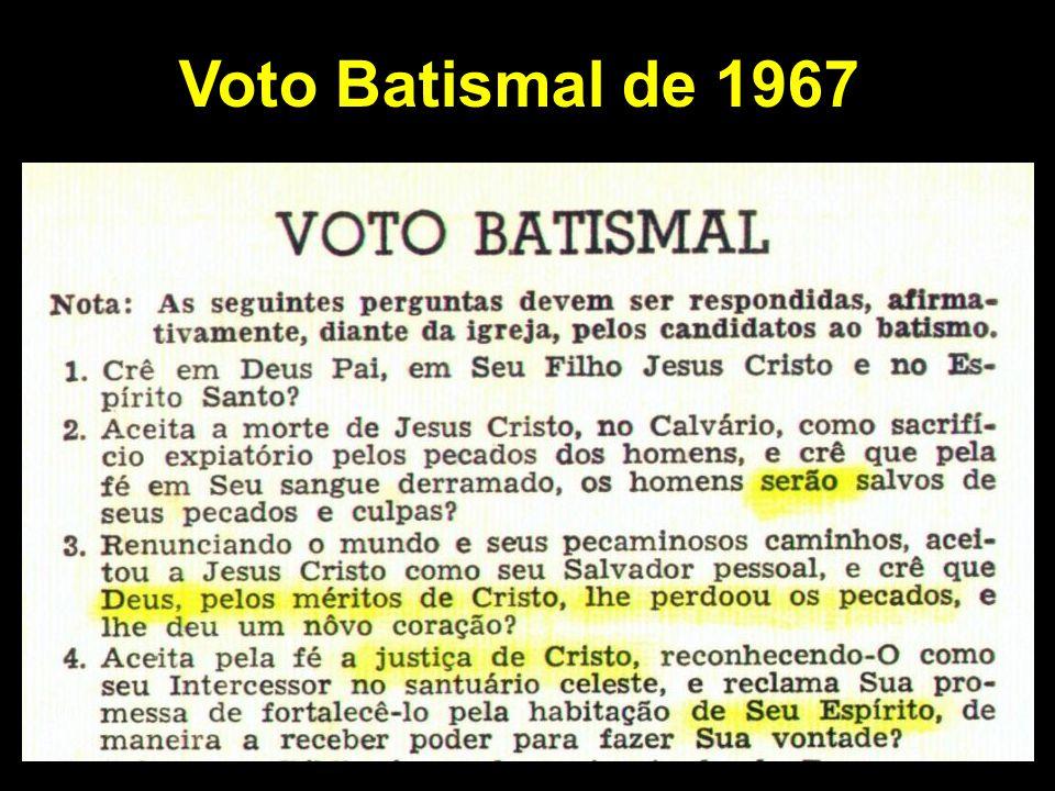 Voto Batismal de 1967
