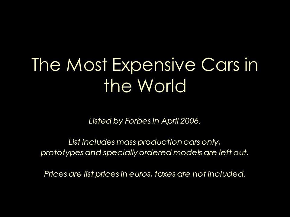 1. Bugatti Veyron 16/4 1.000.000