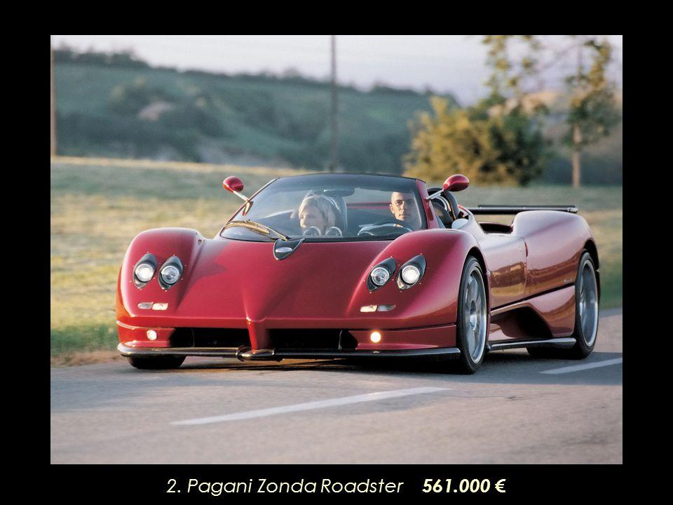 2. Pagani Zonda Roadster 561.000