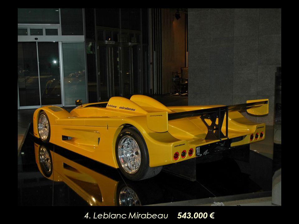 4. Leblanc Mirabeau 543.000
