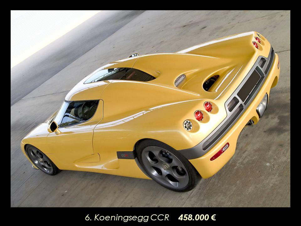 6. Koeningsegg CCR 458.000